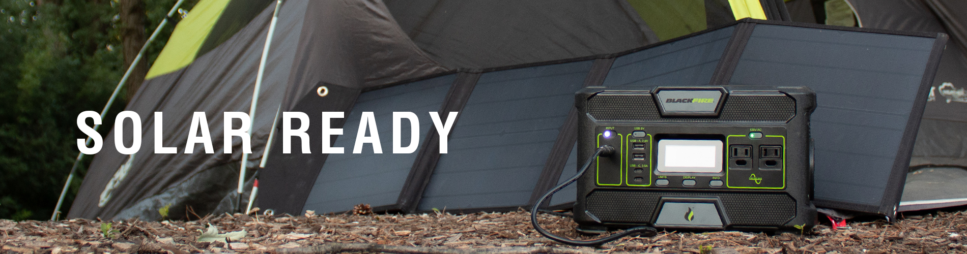 Solar Ready Portable Power