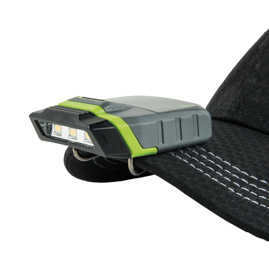 LED Visor Cap Light