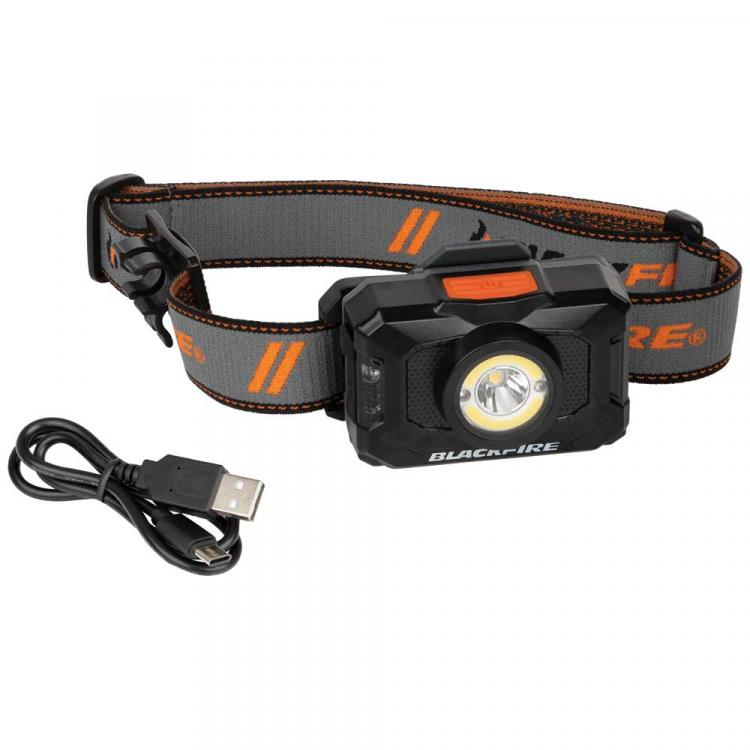 Rechargeable 2-Color LED Headlamp